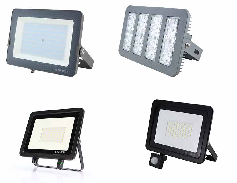 LED casting lamp is a common industrial and mining lamp lighting fixture at night